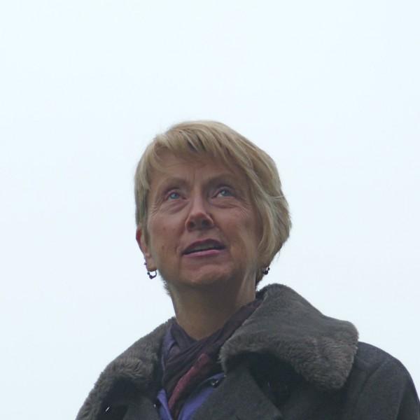 Paula C looking up to heavens