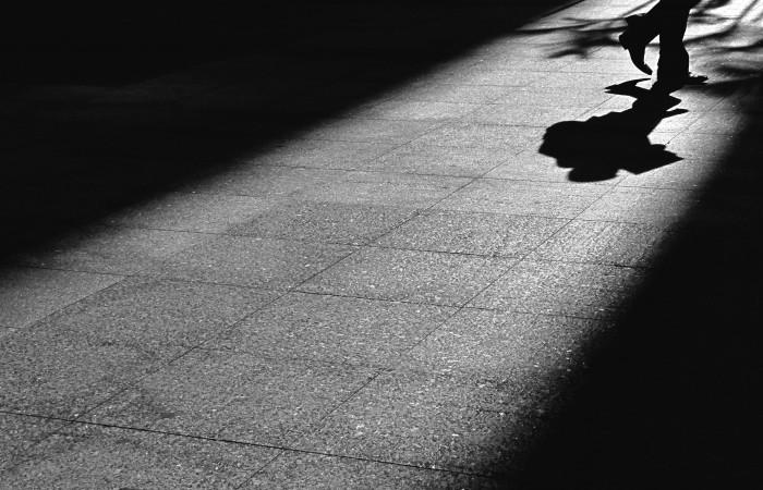 ombre et homme