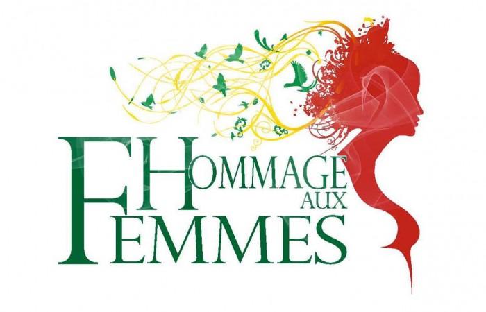 hommage aux femmes et logo